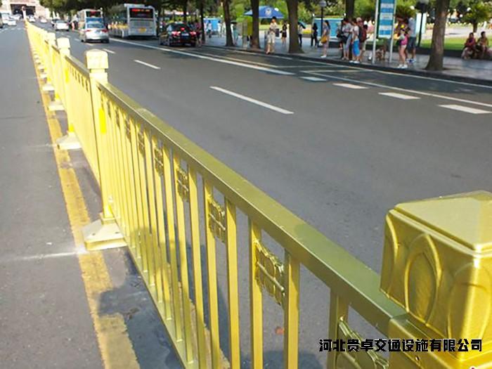 道路黄金莲花护栏